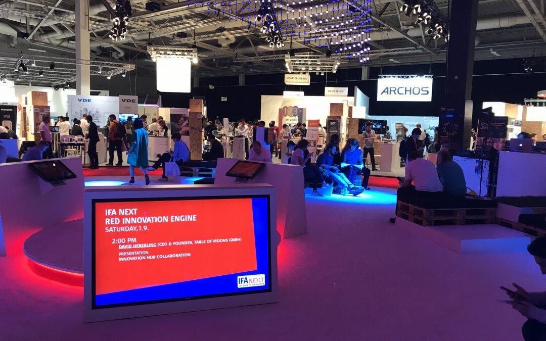 Table of Visions auf der IFA Berlin 2018 – Ein Erfahrungsbericht